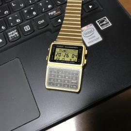そういえばカシオ データバンク DBC-611G-1のレビューを書いてなかった(^_^;)